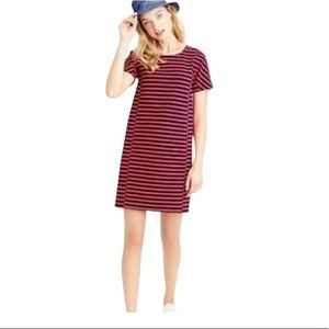New with tag J crew red navy strips short sleeves